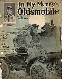 Sheet music: Merry Oldsmobile